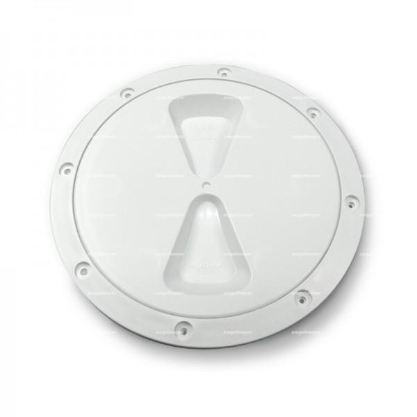 Inspektionsdeckel RWO 150mm, weiß