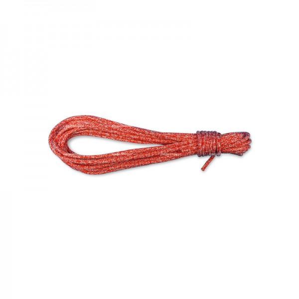 Großschot 6mm für LASER, rot (13,5m lang)