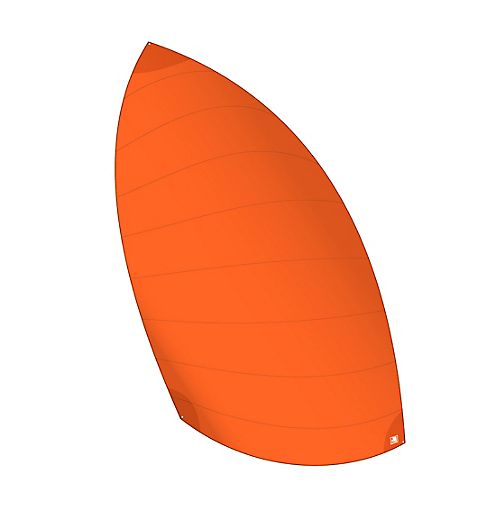 Gennaker VAGO Race (orange)