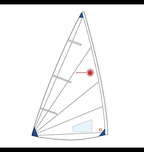 Segel, Laser, Radial Class Compatible - NICHT VERMESSEN!!