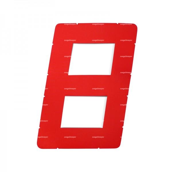 Segelnummer Digital 305mm, rot